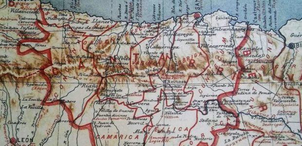 Castro Urdiales Bilbao mapa antiguo