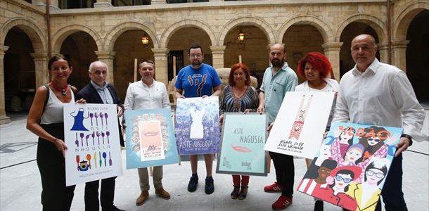 carteles Bilbao Aste Nagusia 2018